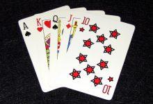 Туз в Стрите в покере Техасский Холдем