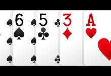Расклады в покере по старшинству карт