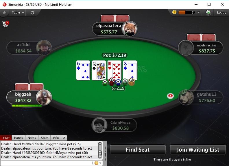 Играть в покер онлайн сейчас без регистрации spin casino games online