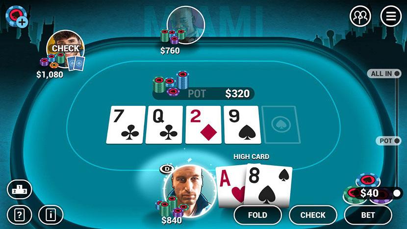 Игровая программа Poker World на Android